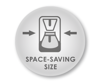 Space-saving design