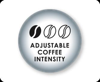 Adjustable coffee strength