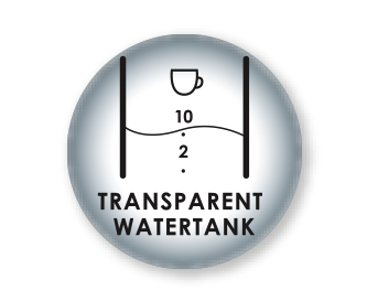 Transparent water tank