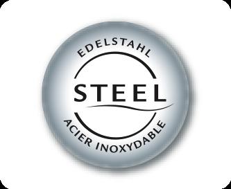 Elegant stainless steel elements
