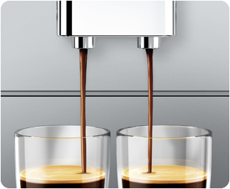 Höhenverstellbarer Kaffeeauslauf